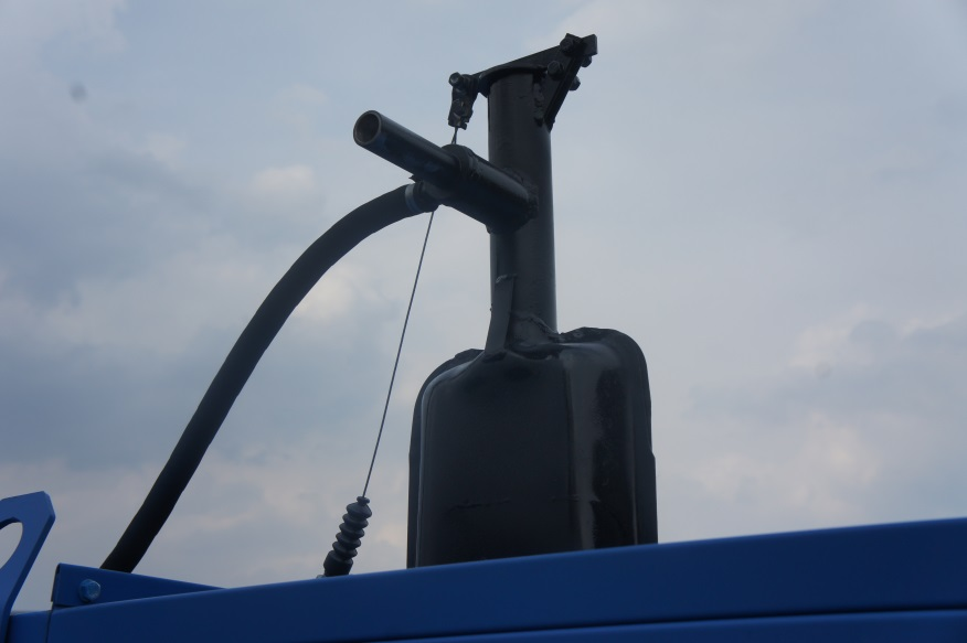 The muffler with a gas-jet system of filling the pump