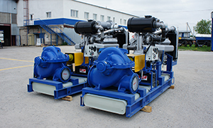 2 diesel pumpset for mining company «Bereleh»