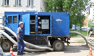 3 hydrostatic unit centers for Kirov filial of «T Plus»
