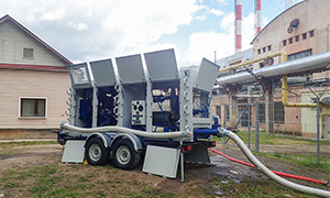 1 hydrostatic unit center for Tver Generation LLC