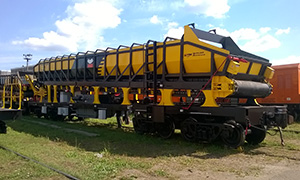 Diesel gensets for stone cleansing train