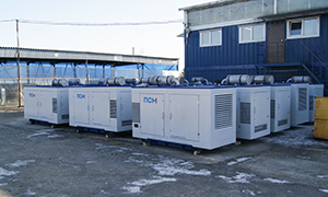 15 diesel gensets for oil company «Transneft»
