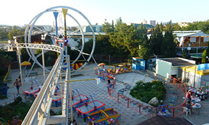 Genset for amusement park in Sudak