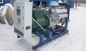Diesel genset for JSC «Kuznetskie Ferrosplavy»