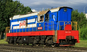 Conversion of bi-diesel locomotives ChME3