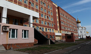 Diesel genset for Russian Railways Hospital in Khabarovsk