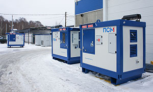 5 diesel gensets for the construction of liquefied natural gas plant «Sakhalin II»