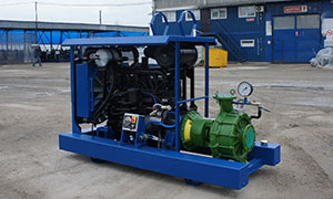 Diesel pumpset for company «Belaya Dacha» in Tambov Region