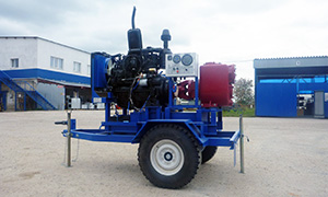 Diesel pumpset for EMERCOM in Novosibirsk region
