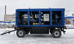 4 hydrostatic unit centers for Samara filial of «T Plus»
