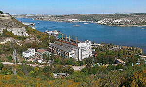 Diesel genset for Sevastopol CHP
