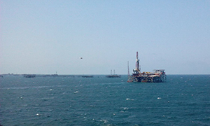 Power drives for the drilling platform in Azerbaijan