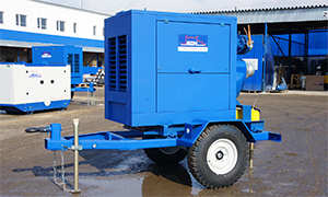Mobile diesel pumpset «Strong» series for Novoroscement