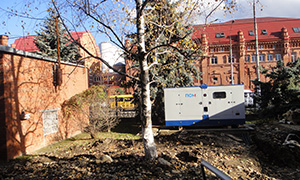 Diesel genset for Clinical Hospital of Republic of Adygea