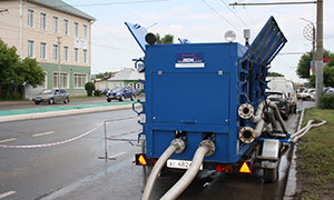 2 hydrostatic unit centers for Orenburg filial of «T Plus»