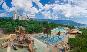 Diesel genset for aquapark «Atlantida» in Yalta