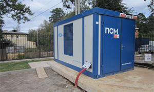 "Diesel genset for for maintenance and repair complex  of the M-1 ""Belarus"" route"