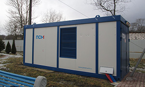 Diesel genset 400 kW for research-and-production enterprise «AVIVAC»