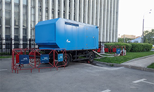 3 hydrostatic unit centers for PJSC «MOEC»