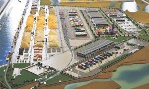Construction of logistics center in Tatarstan