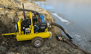 Diesel pumps «Strong» for dirty water