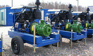 2 diesel pumpsets for company «Don Juices»