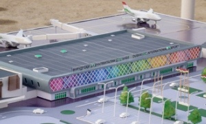 Genset for new airport terminal Dushanbe