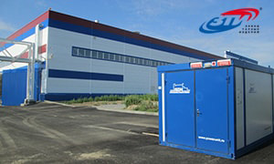 Genset for the largest industrial plastic packaging