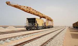 Gensets for railway construction in Libya
