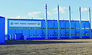 Diesel genset complex 1MW for boiler in Arhangelsk region