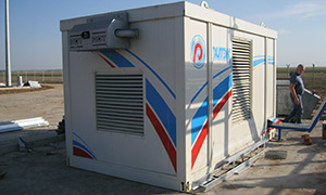 3 gensets for oil company «RITEK»