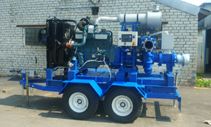 Diesel pumpset for city services Tyumen