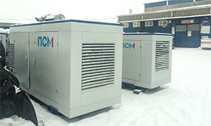 2 diesel gensets for the administration of the Borovsk district of the Kaluga region