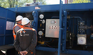 2 hydrostatic unit centers for Mari El Republic and Chuvashia filial of «T Plus»
