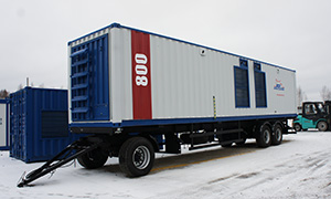 Mobile complex 800 kW