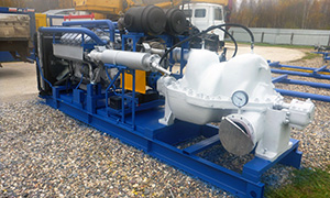 Diesel pumpset for Transneft