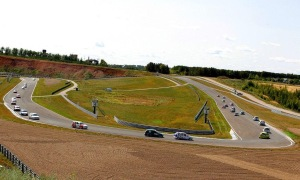 Pumping wastewater from the race track