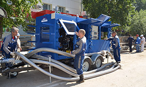 2 hydrostatic unit centers for Komi Republic filial of «T Plus»