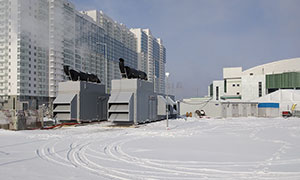 7 diesel gensets for the Universiade-2019 in Krasnoyarsk
