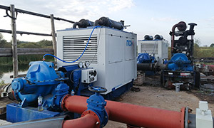 2 diesel pumpsets for the «Magnit» holding agricultural enterprise in the Lipetsk Region
