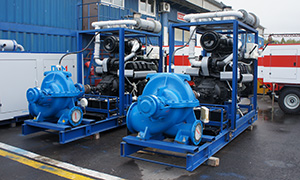 3 diesel pumpsets for farm in the Volgograd Region