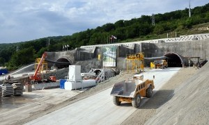 Construction of a combined road Adler - Alpika Service (Olympic venue Sochi 2014)