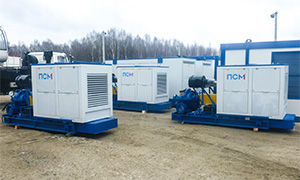 3 diesel pumpsets for agricultural company «Dobrovolnoye»