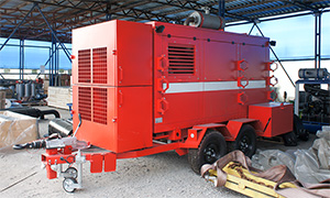 Fire pumping unit for EMERCOM of Russia