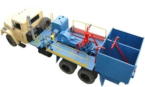 Equipment for cementing units