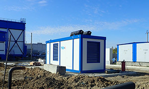 Diesel genset for company «Sibholod»