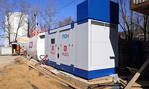 Diesel genset for construction company «Fora»