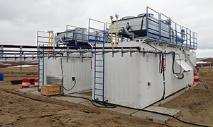 4 highvoltage diesel powerplants for Lukiol oil fields