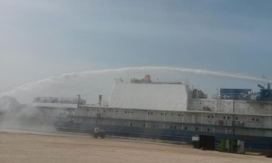 Pumpsets for floating hotels on the Caspian Sea