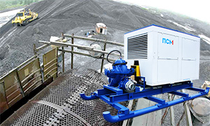 Diesel pump sets for gold mining